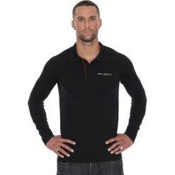 Brubeck Koszulka męska polo Prestige z długim rękawem czarna r. L (LS10620). Koszulki polo męskie Brubeck, z długim rękawem. Za 215.89 zł.