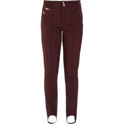 Luhta SALLA Spodnie narciarskie burgundy. Spodnie snowboardowe damskie Luhta, z elastanu, sportowe. W wyprzedaży za 377.10 zł.