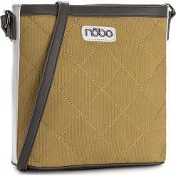 Torebka NOBO - NBAG-C1870-C002 Limonkowy Z Szarym. Żółte listonoszki damskie Nobo, ze skóry ekologicznej. W wyprzedaży za 129.00 zł.