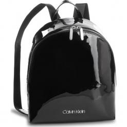 Plecak CALVIN KLEIN - Snap Sml Backpack P K60K604930 001. Czarne plecaki damskie Calvin Klein, ze skóry ekologicznej, eleganckie. Za 549.00 zł.