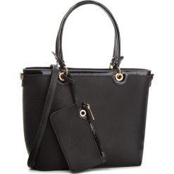 Torebka JENNY FAIRY - RC15520 Black. Czarne torebki do ręki damskie Jenny Fairy, ze skóry ekologicznej. Za 119.99 zł.