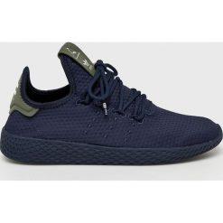 Adidas Originals - Buty Pharrell Williams Tennis HU. Czarne obuwie sportowe damskie adidas Originals, z gumy. Za 399.90 zł.