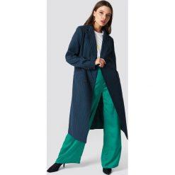 NA-KD Classic Płaszcz w paski - Multicolor,Navy. Niebieskie płaszcze damskie NA-KD Classic, w paski. Za 242.95 zł.