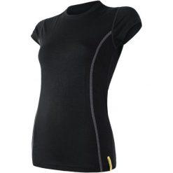 Sensor Koszulka Sportowa Damska Active Black L. Czarne koszulki sportowe damskie Sensor, z krótkim rękawem. W wyprzedaży za 49.00 zł.