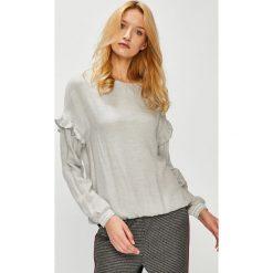 Medicine - Bluzka Hand Made. Szare bluzki damskie MEDICINE, z tkaniny, casualowe, z okrągłym kołnierzem. W wyprzedaży za 49.90 zł.
