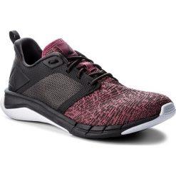 Buty Reebok - Print Run 3.0 CN4912  Berry/Coal/White. Czarne obuwie sportowe damskie Reebok, z materiału. W wyprzedaży za 229.00 zł.
