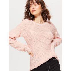 Żakardowy sweter - Kremowy. Swetry damskie marki bonprix. Za 59.99 zł.
