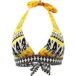 """Biustonosz bikini """"Cavalaire"""" w kolorze żółto-czarno-białym. Biustonosze Val d´Azur. W wyprzedaży za 173.95 zł."""
