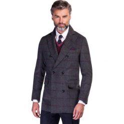 Płaszcz JEREMIAH PSPS000037. Czarne płaszcze męskie Giacomo Conti, z materiału, klasyczne. Za 1,299.00 zł.