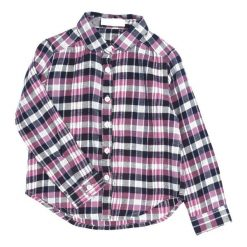 Różowo-Granatowa Koszula Fairness. Czerwone bluzki dla dziewczynek Born2be. Za 54.99 zł.