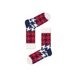 Skarpetki Happy Socks  DGT01-6003. Szare skarpety męskie Happy Socks, z bawełny. Za 24.43 zł.
