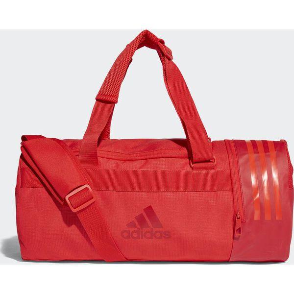 713315eeedc4f Adidas Adidas Torba Convertible 3-Stripes Duffel Small Czerwony ...