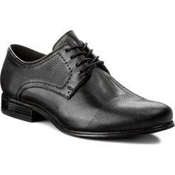 Półbuty LASOCKI FOR MEN - MI07-C327-365-03 Czarny. Czarne eleganckie półbuty Lasocki For Men, z materiału. Za 189.99 zł.