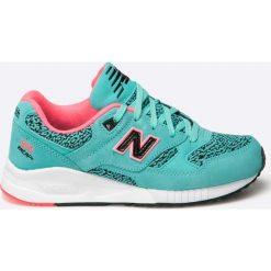 New Balance - Buty W530KIB. Szare obuwie sportowe damskie New Balance, z materiału. W wyprzedaży za 299.90 zł.