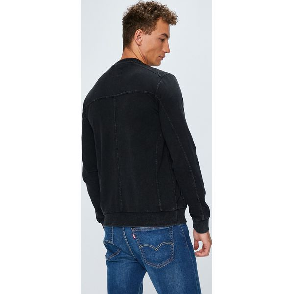 3e2baed26c7d3 Guess Jeans - Bluza - Szare bluzy męskie marki Guess Jeans