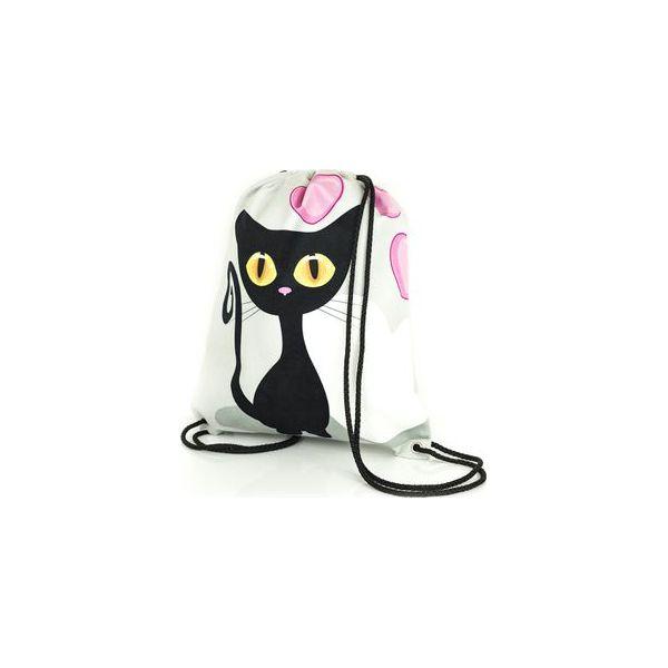14de7f34154d9 Worek-plecak z kotem Black Cat - Torby i plecaki dziecięce marki ...