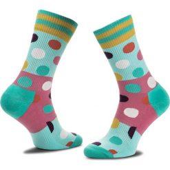 Skarpety Wysokie Unisex HAPPY SOCKS - ATBDB27-7000 Kolorowy. Skarpety damskie Happy Socks, w kolorowe wzory, z bawełny. Za 47.90 zł.
