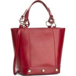 Torebka CREOLE - K10189 Bordowy. Czerwone torebki do ręki damskie Creole, ze skóry. W wyprzedaży za 309.00 zł.