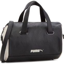 Torebka PUMA - Classics 075405 01 Puma Black/Whisper White. Czarne torebki do ręki damskie Puma, ze skóry ekologicznej. W wyprzedaży za 199.00 zł.
