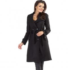 Płaszcz w kolorze czarnym. Czarne płaszcze damskie Ryłko by Agnes & Paul. W wyprzedaży za 279.95 zł.