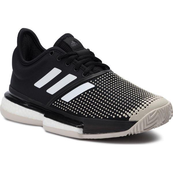 Buty adidas Solecourt Boost W Clay G26305 CblackCblackFtwwht
