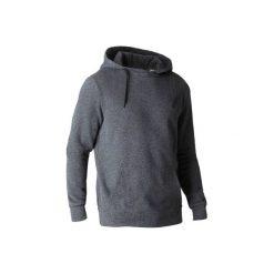 Bluza z kapturem Gym & Pilates 900 męska. Szare bluzy męskie DOMYOS. W wyprzedaży za 54.99 zł.