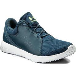 Buty UNDER ARMOUR - Ua W Squad 1296212-918 Tui/Wht/Qle. Niebieskie obuwie sportowe damskie Under Armour, z materiału. W wyprzedaży za 169.00 zł.