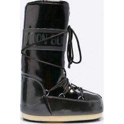 Moon Boot - Śniegowce Vinile Met. Czarne śniegowce i trapery damskie Moon Boot, z materiału. Za 479.90 zł.