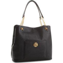 Torebka TORY BURCH - Chelsea Slouchy Tote 50768 Black 001. Czarne torebki do ręki damskie Tory Burch, ze skóry. Za 2,109.00 zł.
