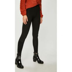 Desigual - Legginsy. Szare legginsy damskie Desigual, z bawełny. W wyprzedaży za 99.90 zł.