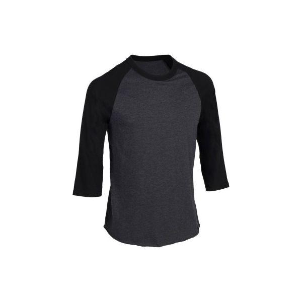 7ac117588 Koszulka baseball rękaw 3/4 BA 550 - Bluzki z długim rękawem męskie ...