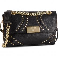 Torebka GUESS - HWVCKY L8221 BLA. Czarne torebki do ręki damskie Guess, z aplikacjami, ze skóry. Za 889.00 zł.