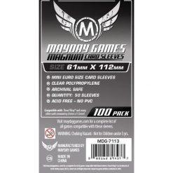 Koszulki Magnum Platinum 61x112 (100szt) MAYDAY - 206444. Szare t-shirty i topy dla dziewczynek Mayday. Za 12.99 zł.