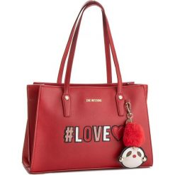 Torebka LOVE MOSCHINO - JC4070PP16LK0500 Rosso. Czerwone torebki do ręki damskie Love Moschino, ze skóry ekologicznej. W wyprzedaży za 729.00 zł.