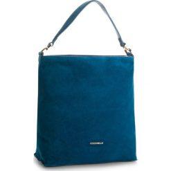 Torebka COCCINELLE - CD6 Arlettis Suede E1 CD6 13 02 01  Saphir B02. Niebieskie torebki do ręki damskie Coccinelle, ze skóry. W wyprzedaży za 799.00 zł.
