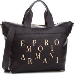 Torebka EMPORIO ARMANI - Y3D106 YH59A 80001  Black. Czarne torebki do ręki damskie Emporio Armani, ze skóry ekologicznej. Za 1,239.00 zł.