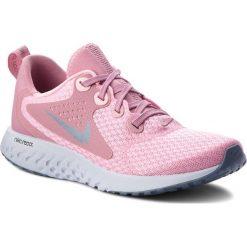 Buty NIKE - Legend React (GS) AH9437 600 Pink/Ashen Slate. Czerwone obuwie sportowe damskie Nike, z materiału. W wyprzedaży za 259.00 zł.