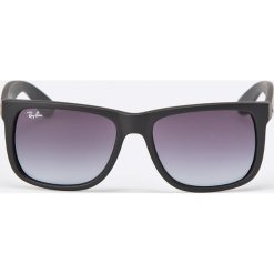 Ray-Ban - Okulary Justin. Szare okulary przeciwsłoneczne męskie Ray-Ban, z materiału. Za 479.90 zł.