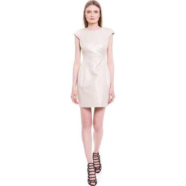f6d117f8a87f7e Simple - Sukienka - Szare sukienki damskie marki Simple, z bawełny ...