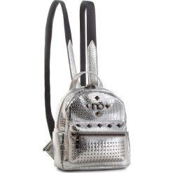 Plecak NOBO - NBAG-F2420-C022 Srebrny. Szare plecaki damskie Nobo, ze skóry ekologicznej. W wyprzedaży za 179.00 zł.
