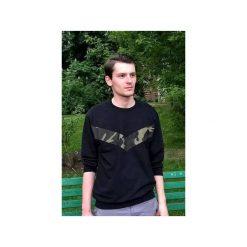 Bluza V'antastic! - czarna. Czarne bluzy męskie Desert snow, z aplikacjami, z bawełny. Za 169.00 zł.
