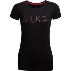 T-shirt damski TSD615 - głęboka czerń - Outhorn. Czarne t-shirty damskie Outhorn, z bawełny. W wyprzedaży za 29.99 zł.