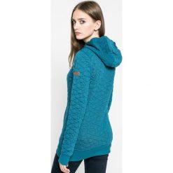 Roxy - Bluza. Zielone bluzy damskie Roxy, z dzianiny. W wyprzedaży za 269.90 zł.