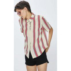 Pepe Jeans - Koszula Kelsey. Szare koszule damskie Pepe Jeans, z jeansu, casualowe, z krótkim rękawem. W wyprzedaży za 219.90 zł.