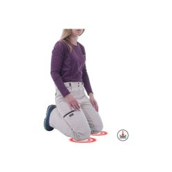 Spodnie snowboardowe i narciarskie SNB PA 500 damskie. Brązowe spodnie snowboardowe damskie WED'ZE, na zimę, z materiału. Za 299.99 zł.