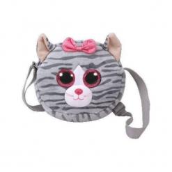 Gear torba na ramię Kikki - szary kotek (266758). Torby i plecaki dziecięce marki Tuloko. Za 45.28 zł.