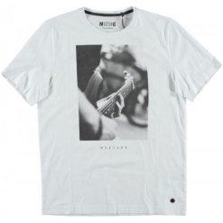 Mustang T-Shirt Męski, Xl, Biały. Białe t-shirty męskie Mustang, z nadrukiem. Za 128.00 zł.