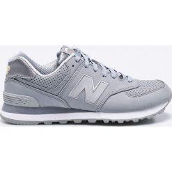 New Balance - Buty ML574SKI. Szare buty sportowe męskie New Balance, z materiału. W wyprzedaży za 219.90 zł.