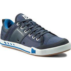 Tenisówki MERRELL - Rant J71209 Indigo. Niebieskie trampki męskie Merrell, z materiału. Za 299.00 zł.