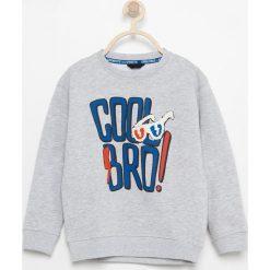 Melanżowa bluza z nadrukiem - Jasny szar. Bluzy dla chłopców Reserved, z nadrukiem. W wyprzedaży za 19.99 zł.